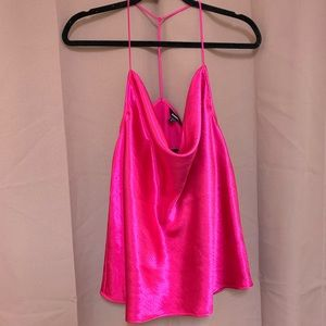 Pink Silky Cami